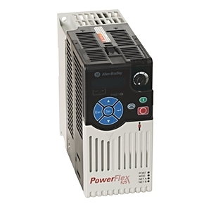 Allen-Bradley 25B-A2P5N104 Drive, Variable, 240VAC 1PH, Powerflex 523, 2.5A, 0.4kW, 0.5HP