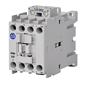 Allen-Bradley 300-AOEJ930 Contactor, AC, Size 0, 18A, 600VAC, 3 - 5HP, 24VDC Coil
