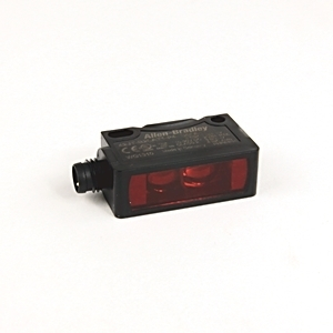 Allen-Bradley 42JT-B2LAT1-P4 Sensor, Photoelectric, Background Suppression, 10-30VDC, VisiSight
