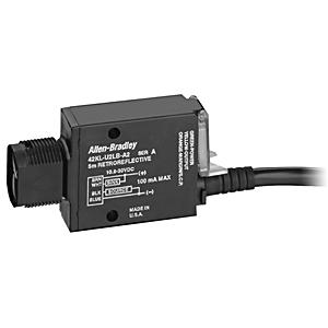 Allen-Bradley 42KL-D1LB-F4 Sensor, Photoelectric, Standard Diffuse, MiniSight, 10.8 - 30VDC