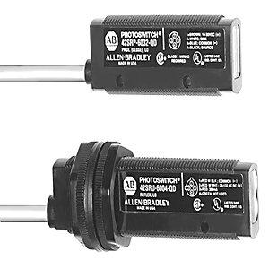 Allen-Bradley 42SRF-6103-QD Sensor, Photoelectric, Visible Red, Fiber Optic, 10-30VDC, 35mA
