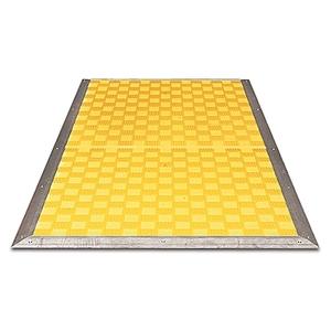 Allen-Bradley 440F-M1025BYNN Safety Mat, 500 x 1250mm, Yellow, 2 x 4.5m x 2-Wire Cables