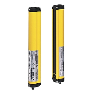 Allen-Bradley 440L-P4J1600YD Light Curtain, Pair, 1600mm Height, 14mm Resolution, 160 Beam