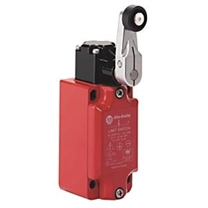 Allen-Bradley 440P-MSLS11E Limit Switch, Safety, 30mm Metal, Short Lever, NO/NC Snap Acting