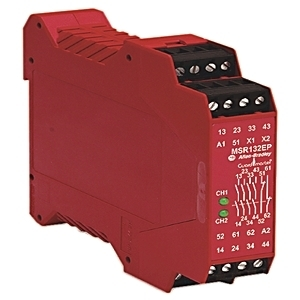 Allen-Bradley 440R-E23191 Relay, Expansion Safety, with Delayed Outputs, 24V AC/DC