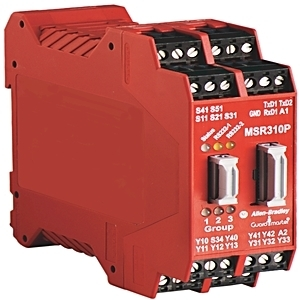 Allen-Bradley 440R-W23219 Relay, Configurable Safety, MSR310P, 24VDC