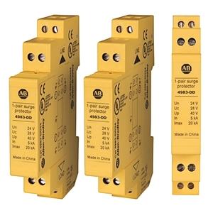 Allen-Bradley 4983-DD24 Surge Protection Device, Dateline UL497B, 6VDC, RS485, RS422