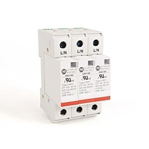Allen-Bradley 4983-DS277-403 Surge Protection Device, 480Y/277VAC, 3P, Din Rail Mount, 1500V VPR