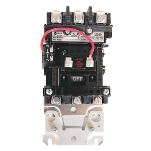 Allen-Bradley 500F-BOD930 Base Contactor, Open, Size 1, 120VAC Coil, 3P, 27A, 600VAC