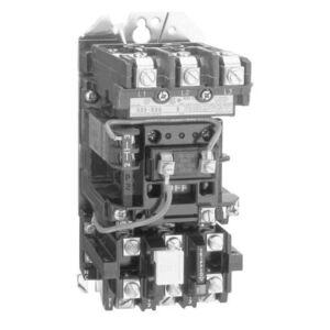 Allen-Bradley 509-TOH Starter, Open, Size 00, Full Voltage, 600VAC, 9A, 208VAC Coil