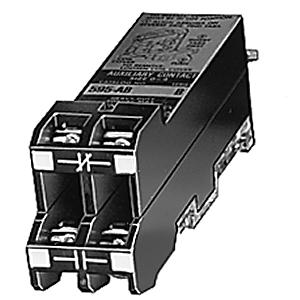 Allen-Bradley 595-AB Auxiliary Contacts, NEMA Size 0 - 5, 1NO/NC