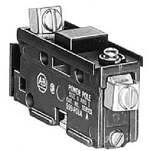 Allen-Bradley 599-P01A Power Pole Adder, 1 NO, Size 0 - 1, 27A, for 500 Sereis Contactor