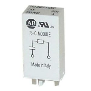 Allen-Bradley 700-AR1 Surge Suppressor, RC, Diode for 70HN221, HN222 Sockets
