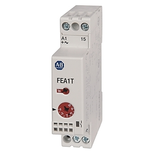 Allen-Bradley 700-FEB1TU22 Timing Relay, Single Function, Off-Delay, 1NO, 24V AC/DC, 24-240VAC