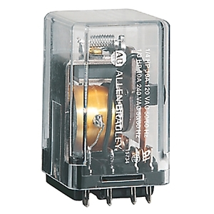 Allen-Bradley 700-HJD32Z24 Relay, Ice Cube, Latching, 11-Pin, 2PDT 10A, 24VDC, DC Only