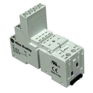 Allen-Bradley 700-HN104 Socket, 14-Blade, Screw Terminal, Panel or DIN Rail Mount