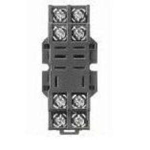 Allen-Bradley 700-HN116 Socket, 8-Blade, Miniature, Panel or DIN Rail Mount, for 700-HF