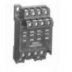 Allen-Bradley 700-HN139 Socket, 14-Blade, Guarded Screw Terminals, Panel or DIN Rail Mount