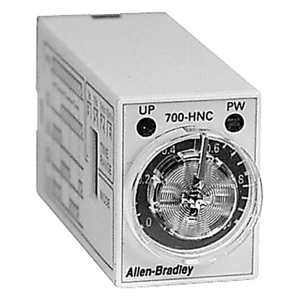 Allen-Bradley 700-HNC44AA12 Timing Relay, Multi-Mode, Minature, 0.1S-10M, 4PDT, 120VAC, 14 Pin