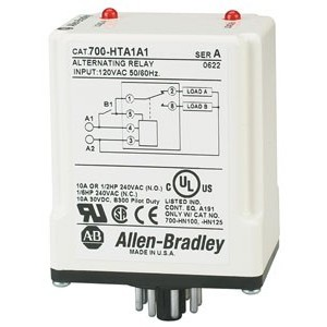 Allen-Bradley 700-HTA2A2 RELAY DPDT 240VAC