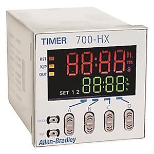 Allen-Bradley 700-HX86SU24 Timing Relay, Multi-Function, Digital, 8-Pin, 24VAC, 12-24VDC