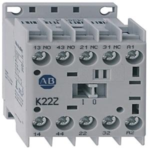 Allen-Bradley 700-K31Z-D Relay, Control, 10A, 120VAC, 3NO Contacts, 1NC Contact