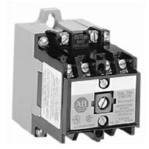 Allen-Bradley 700-P800A1 Contactor, Industrial, AC Operated, 8P, 10A, 600VAC, 120VAC Coil