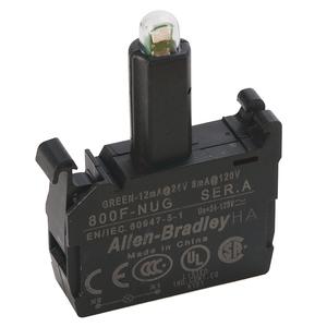 Allen-Bradley 800F-NUG 800F-NUG 24-120V GREEN