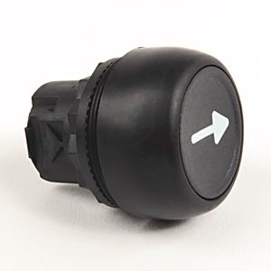 Allen-Bradley 800FP-CA2U243 Push Button, Momentary, Left Arrow, Horizontal, Black, Operator