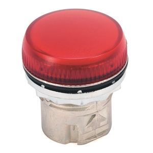 Allen-Bradley 800FP-P4 Pilot Light, Plastic, Red, 22.5mm, Operator Only