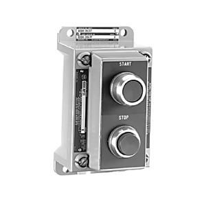 Allen-Bradley 800H-2HAM7 Control Station, 2-Position Lever, Selector Switch, Start/Stop