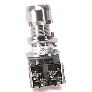 Allen-Bradley 800H-AP1A Push Button, Flush Head, Green, NEMA 7/9, 1NO/1NC, Contact