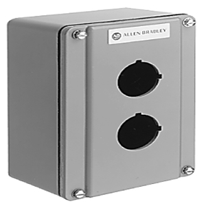 Allen-Bradley 800T-1TZY Enclosure, 1-Unit, Die Cast Aluminum, NEMA 4/13, Surface Mount