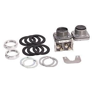 Allen-Bradley 800T-FA22A Push Button, Mechanically Interlocked, Flush/Flush, Black