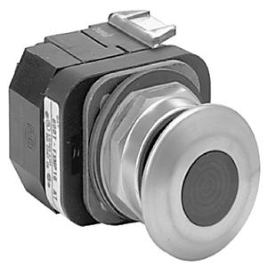Allen-Bradley 800T-FXNQ24RA7 Push Button, 3-Position, Push-Pull, Illuminated, Red, 30mm