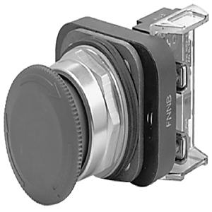 Allen-Bradley 800T-FXT6D1 Push Button, Push-Pull/Twist Release, 30mm, Red, Mushroom Head