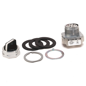 Allen-Bradley 800T-J2A Selector Switch, 3-Position, 30mm, Knob, Maintained, NEMA 4/13