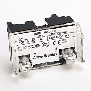 Allen-Bradley 800T-N330 Power Module, Full Voltage, 6-130V AC/DC, LED