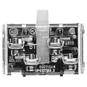 Allen-Bradley 800T-XA1 Contact Block, 1NO/1NCLB, Shallow Type 4/13, 30mm, Screw Attachment