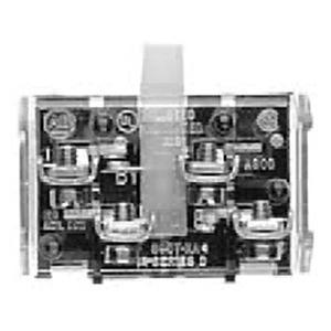 Allen-Bradley 800T-XA2 Contact Block, 2NO, Type 4/13, 30mm, Screw Attachment