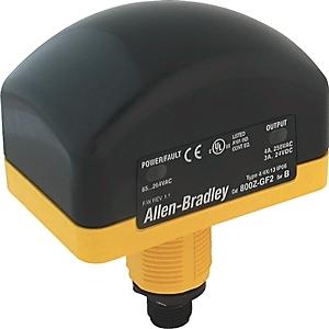 Allen-Bradley 800Z-GF3Q5 Touch Button, 30mm, Momentary, Relay Output, 100-240VAC, 5 Pin QD