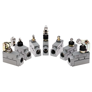 Allen-Bradley 802B-CSADBSXD4 Limit Switch, Compact, Top Push Roller, Booted, Side Mount