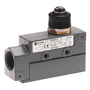 Allen-Bradley 802B-PSABBSX Limit Switch, Precision, Top Push, Booted, Side Mount, Standard