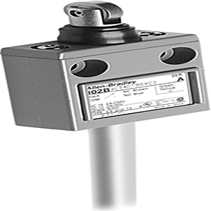 Allen-Bradley 802B-SSADBSX Limit Switch, Precision, Top Push Roller, Booted, Side Mount, 2P