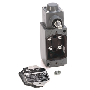 Allen-Bradley 802T-A Limit Switch, Side Lever, No Operator, 2P, 43D Max Travel