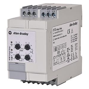 Allen-Bradley 813S-V3-480V Relay, Motor Protection, Monitoring, Voltage, 3PH, 480VAC, 2P