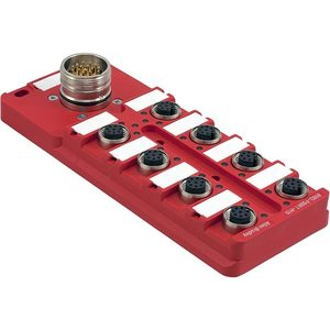 Allen-Bradley 898D-P88RT-M19 Distribution Box, Safety Wired, 8 Port, LED, 10-30VDC, M23 Output