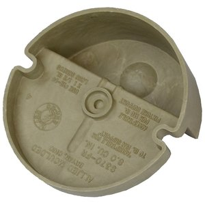 "Allied Moulded 9370-FR 3-3/8"" Diameter, Ceiling/Fixture Pan"