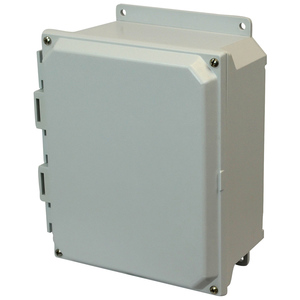 Allied Moulded AMU1426F Type 4X, Hinged Cover, Wall Mount Enclosure