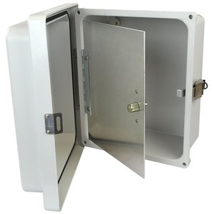 Allied Moulded HFP142 Enclosure hinged front panel kit for use with Allied Moulded AM-R series